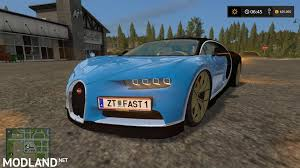 car bugatti chiron bugatti chiron v 1 0 mod farming simulator 17