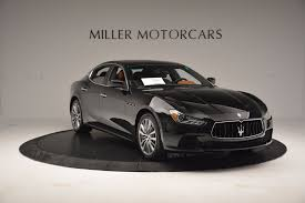 custom maserati ghibli 2017 maserati ghibli sq4 ex loaner stock m1755 for sale near