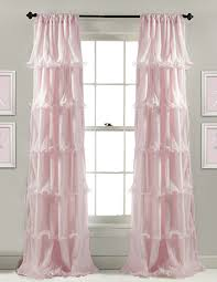 Nursery Pink Curtains Extremely Inspiration Curtains For Baby Room Sheer Floor