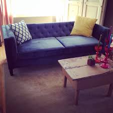 Tufted Sofas For Sale by Blue Velvet Tufted Sofa For Sale Best Home Furniture Decoration