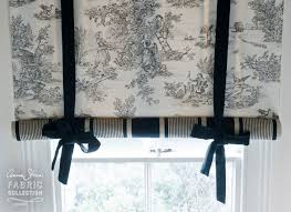 swedish blind created with charcoal pastorale toile u0026 paris noir