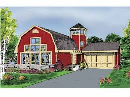 gambrel house plans eplans contemporary modern house plan two tower 1700