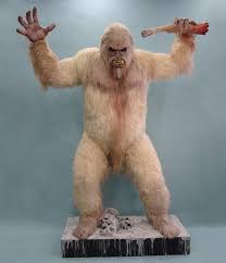 abominable snowman costume abominable snowman yeti statue the green