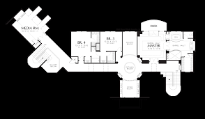 large house plans mascord house plan 2411 the kalden
