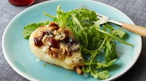 roasted pears with blue cheese food network