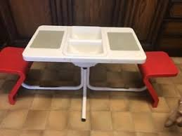 duplo table with chairs genuine duplo rare shop display table chairs rare 1989