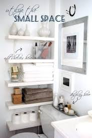 space saving bathroom ideas brilliant small bathroom shelf ideas 17 diy space saving bathroom