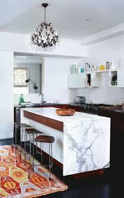ilot cuisine blanc cuisine avec îlot central 43 idées inspirations