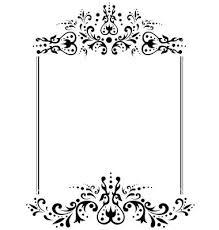 wedding invitation blank template 32 victorian wedding invitation