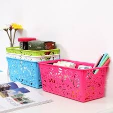bathroom boxes baskets rectangle plastic baskets bath basket storage bathroom desktop