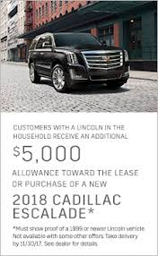 cadillac ats lease special cadillac special offers