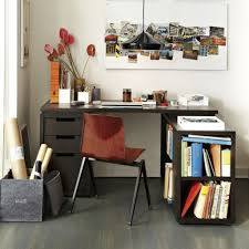Grey L Shaped Desk by Stunning Grey Ceramic Floor For Small Office Ideas With Black L