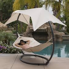 patio hammock w sunroof canopy outdoor swing backyard beach yard