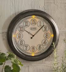 the 24 outdoor lighted atomic clock mainstream illuminated outdoor clock 18 indoor lighted wall wind