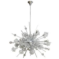swarovski crystal sputnik chandelier at 1stdibs