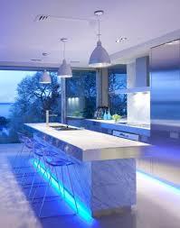 ultra modern kitchen design with led lighting fixtures u2013 iroonie