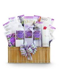 lavender gift basket fields of lavender spa basket at from you flowers