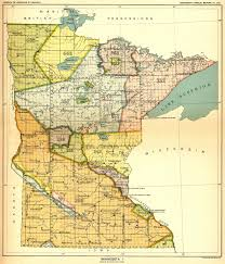 Minnesota United States Map by Indian Land Cessions In The U S Minnesota 1 Map 33 United