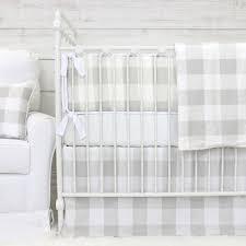Plaid Crib Bedding Fletcher S Farmhouse Baby Bedding Caden