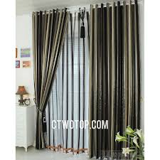 Black Gray Curtains Gray And Black Curtains 14