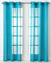 Gold And Teal Curtains Gold And Teal Ikat Aberdeen Cotton Curtains Set Of 2 Aberdeen