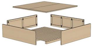 Shipping Crate Coffee Table - custom wood crate request a quote lavalley industries