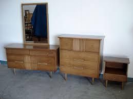 mid century modern bed furniture set all modern home designs