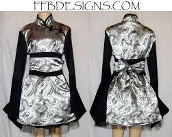 dragon kimono chinese dress by funkyfunnybone on deviantart
