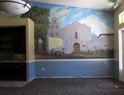 spanish mission murals murals fantastic spanish style mission mural located in san diego california