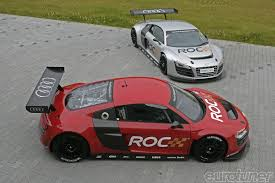 2010 race of champions will use audi r8 lms tanner foust and
