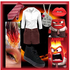 Inside Out Costumes Disney U0027s Inside Out Anger Costume Polyvore