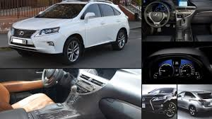 lexus rx400h custom lexus rx all years and modifications with reviews msrp ratings