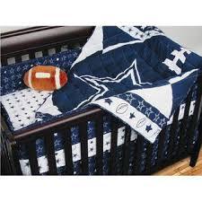 Dallas Cowboys Table Nfl Dallas Cowboys 4pc Football Crib Bedding Set