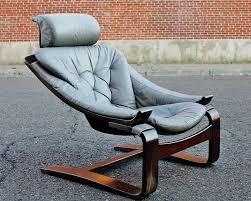 Swedish Wooden High Chair Kroken Chair åke Fribytter For Nelo Möbel Sweden 1970s