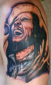 bob marley by carson hill old tattoonow