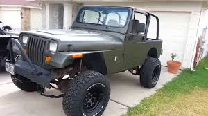 jeep yj snorkel jeep wrangler yj project 6 lift kit installed u0026 new tires youtube
