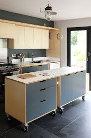 designer kitchen island a designer plywood kitchen for a client in penryn features a