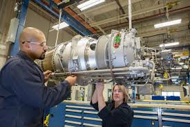 pratt whitney canada s pt6a 140 series engines a class pt6a 140 engine assembly pratt whitney canada office photo