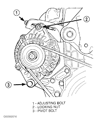 2003 chrysler pt cruiser serpentine belt routing and timing belt