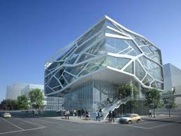 architecture designer green architecture design of gimpo art hall by gansam partners