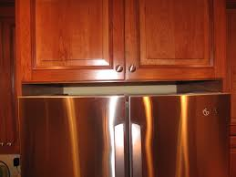 gap between fridge and cabinets do you have a gap between the top of your frig and cabinet above
