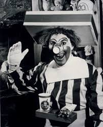 if you think ronald mcdonald is terrifying now flash back to 1963