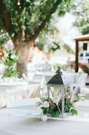 Lantern Centerpieces Wedding Texas Barn Wedding By Jen Dillender Southern Weddings