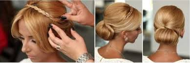 rolling hair styles chic and elegant hairstyle the rolled bun alldaychic