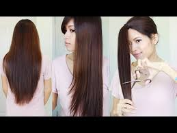 flip hair upsidedown and cut how to do a layered haircut 12 steps with pictures wikihow
