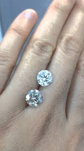 Difference Between Engagement Ring And Wedding Ring by Cannot Tell The Difference Between Diamond And Moissanite U2013 Can