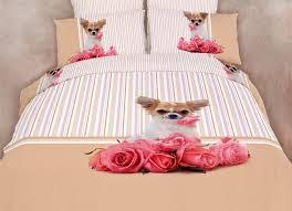 Queen Girls Bedding by Bedding For Girls Cute Dog Print Duvet Cover Set Dolce Mela Dm487q