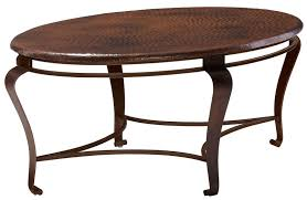 Hammered Copper Dining Table Coffee Table Chalet Copper Table Antique Hammered Coffee Round Ftc