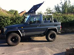 kzj73 no top landcruiser pinterest cars