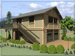 garage in law log home floor plan frontier log and timber homes